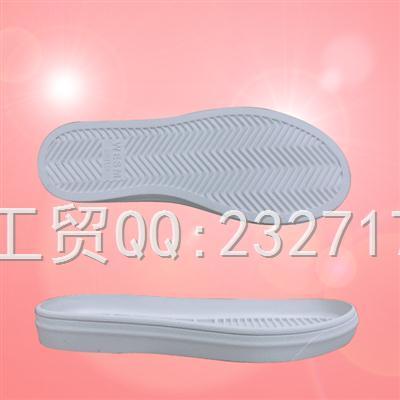 2018新款RB橡胶J-7770/35-39#休闲女鞋系列