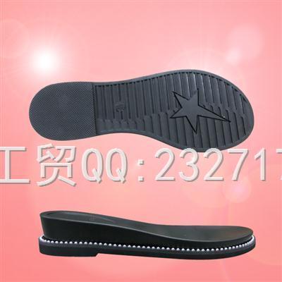 2019新款RB橡胶+PU组合Y1-6A2160/35-40#时尚凉鞋女款系列