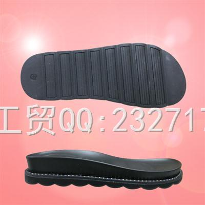 2019新款RB橡胶+PU组合Y1-6A2271/35-40#时尚凉鞋女款系列