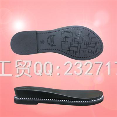 2019新款RB橡胶+PU组合Y1-6A7111/35-40#时尚凉鞋女款系列
