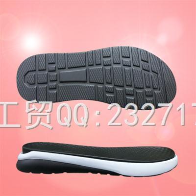 2019新款男款沙滩鞋M-8D396/38-43#PU聚氨酯系列