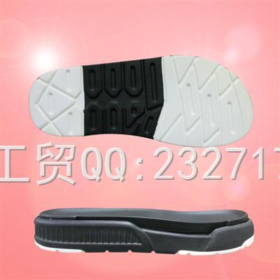 2019新款沙滩鞋男款M-90302/38-43#PU聚氨酯系列