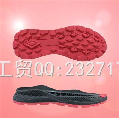 2019新款RB橡胶q-10807/38-43#时尚休闲运动户外系列男款