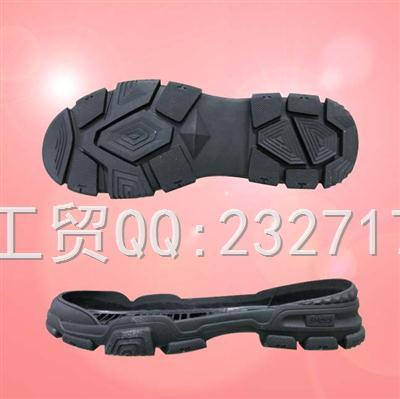 2019新款RB橡胶q-10937/38-43#时尚休闲运动户外系列男款