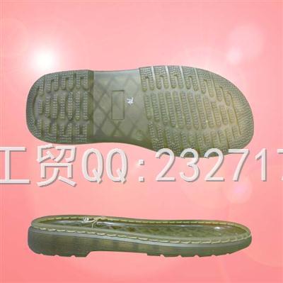 2020PVC透明新款Y2-811/35-39#休闲女款凉鞋系列