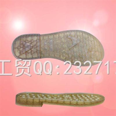 2020新款04PVC透明Y3-7566/35-39#休闲女款凉鞋