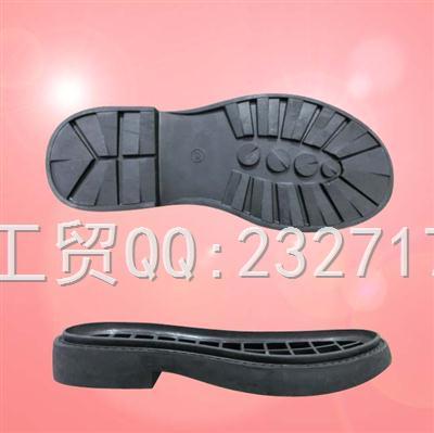 2020新款04RB橡胶女款Y3-1515/35-39#马丁靴系列