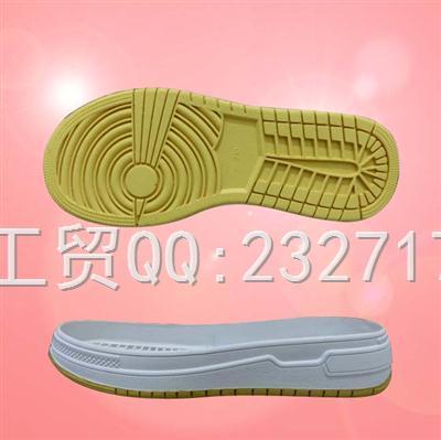 2020新款04RB橡胶Y3-20218/35-39#时尚休闲女款双色