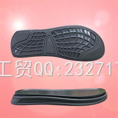 2020新款06PU+RB组合男款凉鞋沙滩鞋q-10676/38-43#