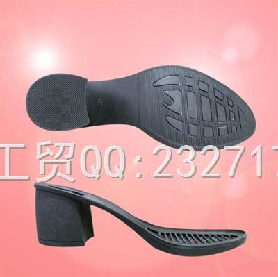 2020新款06RB橡胶时尚休闲带跟系列女款r-66539/35-40#