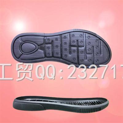 2020新款07RB橡胶时尚休闲系列男款H-19001/38-43#