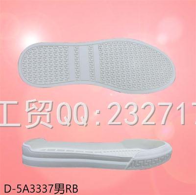 2020新款08RB橡胶时尚休闲板鞋包头鞋男款D-5A3337/38-43#