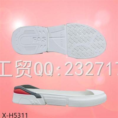 2020新款08RB橡胶时尚休闲男款X-H5311/38-43#