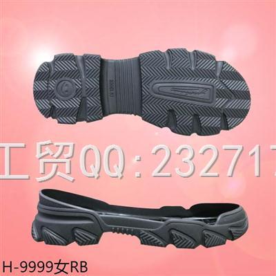 2020新款09RB橡胶时尚休闲女款系列H-9999/35-39#
