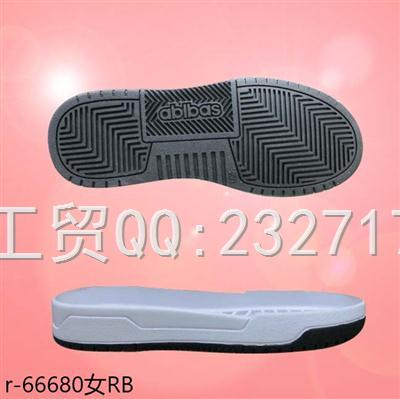 2020新款09RB橡胶休闲板鞋女款r-66680/35-39#