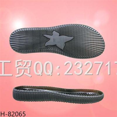 2020PVC 透明11新款时尚缝线休闲鞋女款H-82065/35-39#