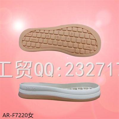 2021新款03RB橡胶休闲板鞋女款AR-F7220/35-39#