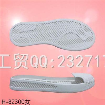 2021新款04RB橡胶女款休闲板鞋包头系列H-82300/35-39#