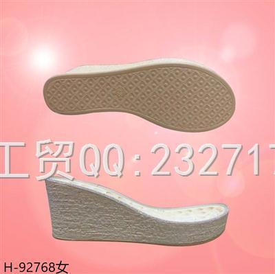 2021新款04PU聚氨酯女款凉鞋系列H-92768/35-39#