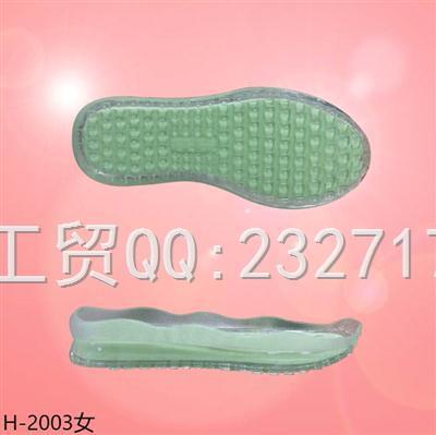 2021新款PVC女款运动休闲系列H-2003/35-39#