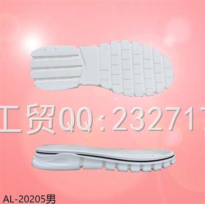 2021新款04RB橡胶男款运动休闲慢跑鞋底AL-20205/38-43#