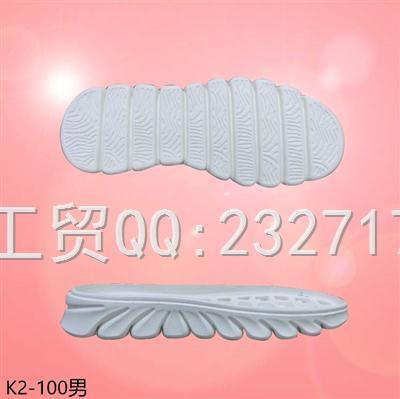 2021新款05RB橡胶发泡男款慢跑休闲系列K2-100/38-43#