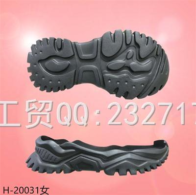 202107新款RB橡胶发泡女款时尚运动休闲H-20031/35-39#