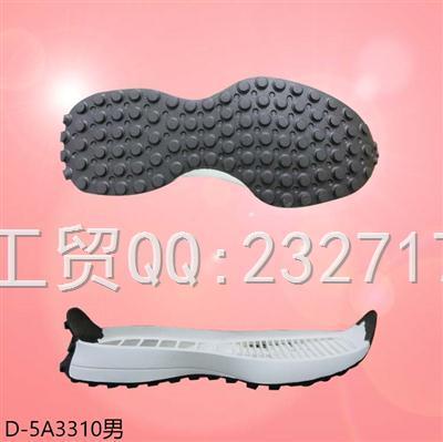 202107新款RB橡胶运动男款D-5A3310/38-43#