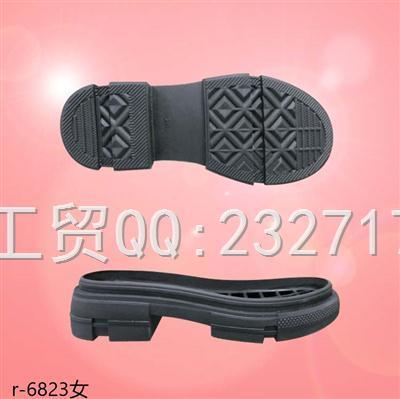 202108RB橡胶女款马丁靴r-6823/35-39#