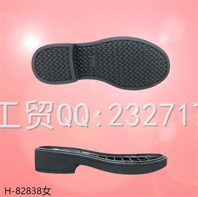 202109RB橡胶秋冬半筒靴女款H-82838/35-39#