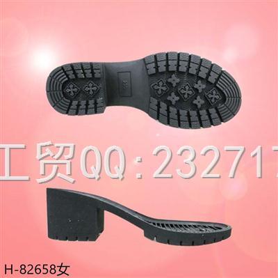202109RB橡胶秋冬直跟靴女款H-82658/35-39#
