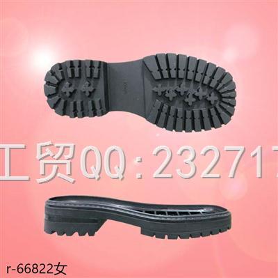 202109RB橡胶女款马丁靴系列r-66822/35-39#