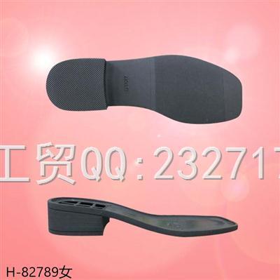 202109RB橡胶女款半筒靴H-/82789/35-39#