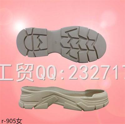 202109RB橡胶户外休闲鞋r-905/35-39#