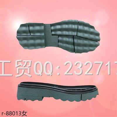 202109RB橡胶时尚休闲鞋女款r-88013/35-39#