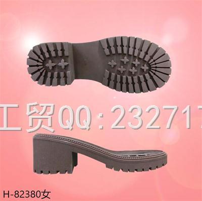 202108RB橡胶女款马丁靴系列H-82380/35-39#